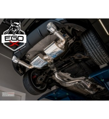 "EGO-X 3"" exhaust system for..."
