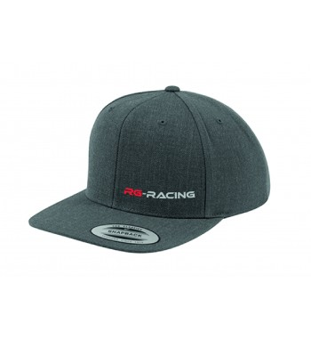 Snapback Cap grau