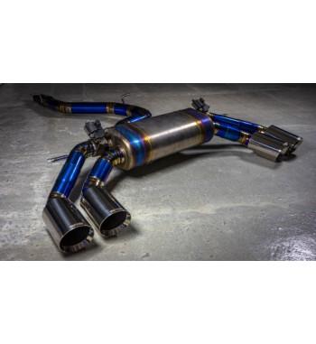 Titanium exhaust system...